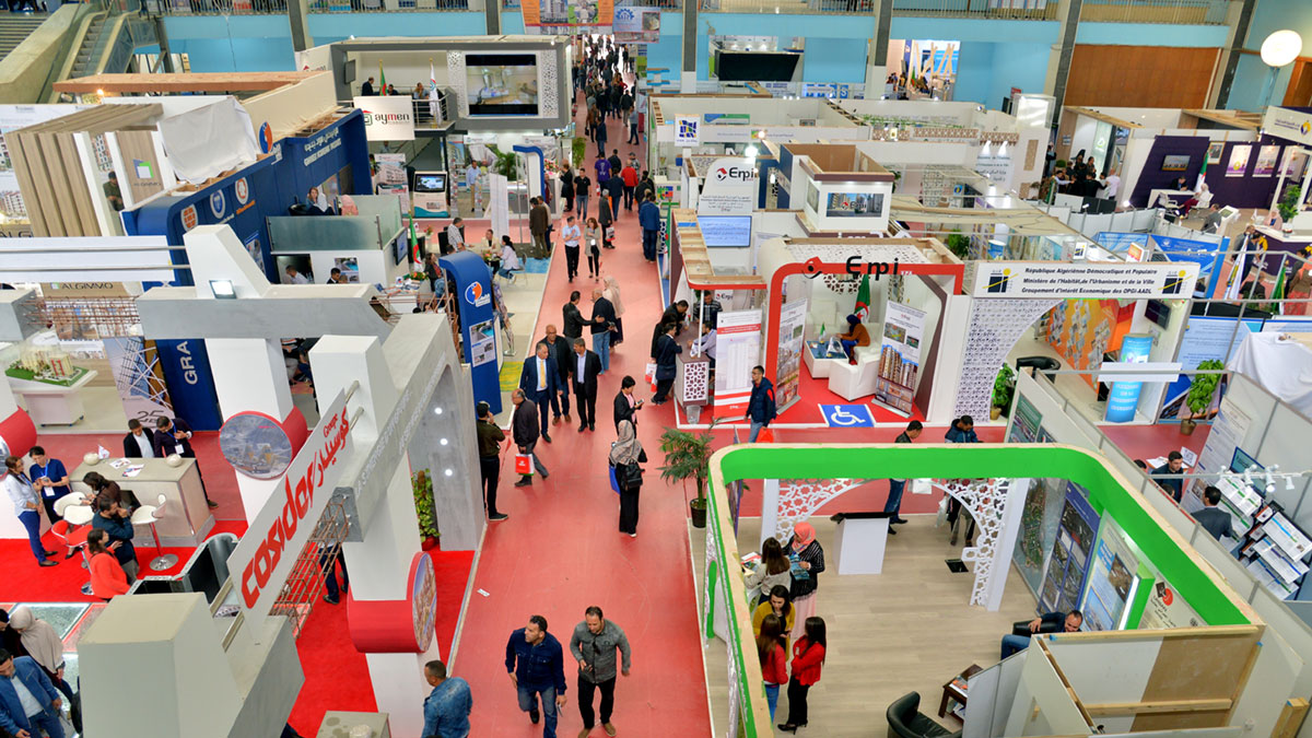 We return to BATIMATEC, the biggest construction exhibition in Algiers 2019